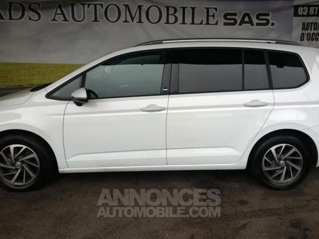 Volkswagen Touran 1.4 TSI 150 BMT DSG7 5PL Sound Blanc Occasion - 4
