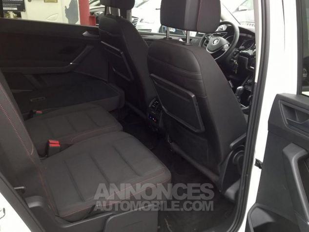 Volkswagen Touran 1.4 TSI 150 BMT DSG7 5PL Sound Blanc Occasion - 9