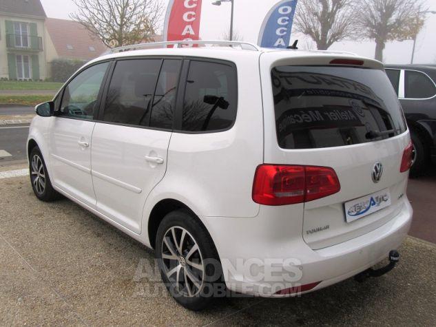 Volkswagen Touran 2.0 TDI 140CH FAP CONFORTLINE Blanc Occasion - 2