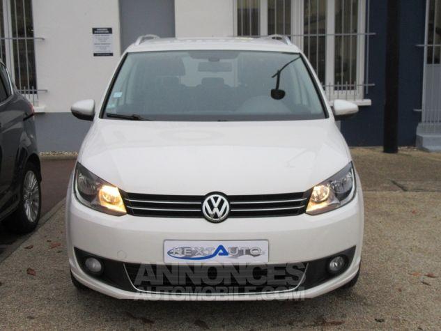 Volkswagen Touran 2.0 TDI 140CH FAP CONFORTLINE Blanc Occasion - 5