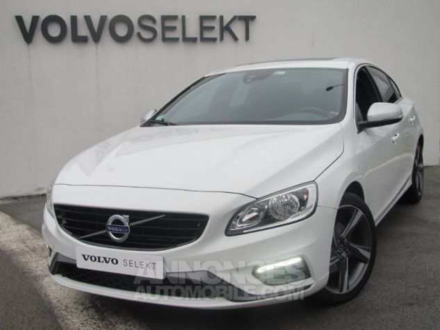 Volvo S60 D4 190ch R-Design Blanc Glace Occasion - 0