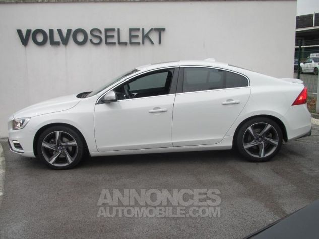 Volvo S60 D4 190ch R-Design Blanc Glace Occasion - 2