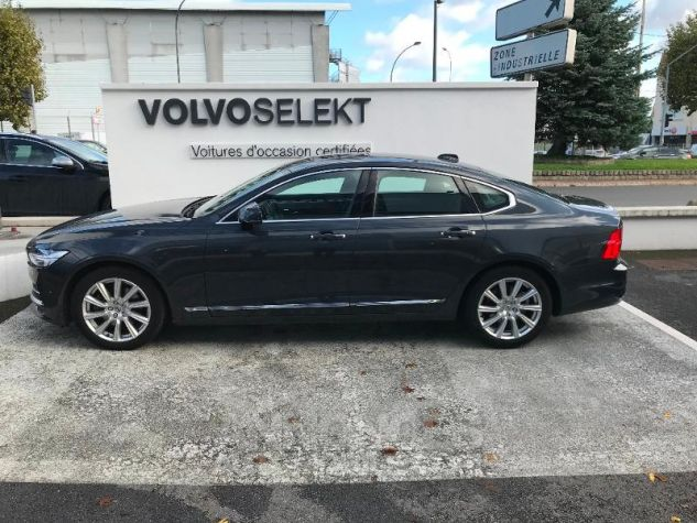 Volvo S90 D4 190ch Inscription Luxe Geartronic GRIS C Occasion - 1