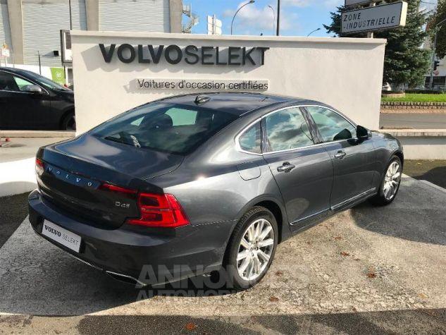 Volvo S90 D4 190ch Inscription Luxe Geartronic GRIS C Occasion - 2