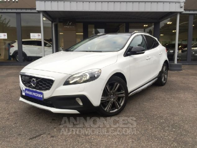 Volvo V40 Cross Country D3 150ch XAnium Geartronic FULL Options Blanc Occasion - 0