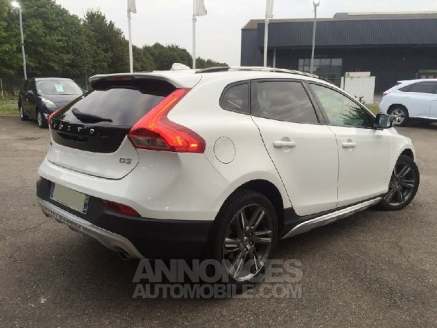 Volvo V40 Cross Country D3 150ch XAnium Geartronic FULL Options Blanc Occasion - 1