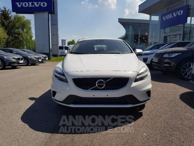 Volvo V40 T2 122ch R-Design Geartronic Blanc Glace Occasion - 6