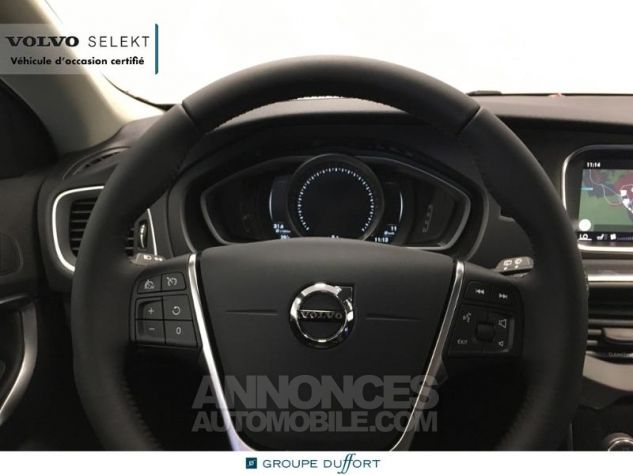 Volvo V40 T2 122ch Signature Edition Geartronic Gris Clair Métal Occasion - 7