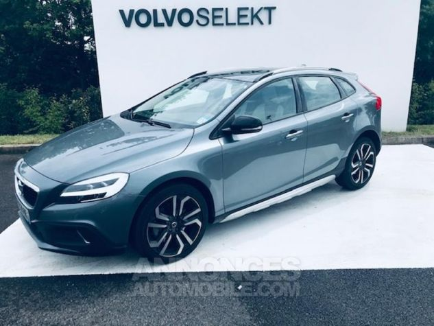 Volvo V40 T3 152ch Signature Edition Geartronic Gris F Occasion - 0