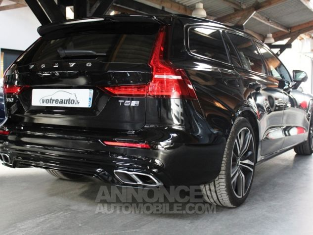 Volvo V60 (2E GENERATION) II T8 390 TWIN ENGINE R-DESIGN GEARTRONIC 8 Noir Occasion - 1