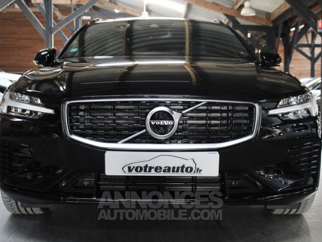 Volvo V60 (2E GENERATION) II T8 390 TWIN ENGINE R-DESIGN GEARTRONIC 8 Noir Occasion - 3