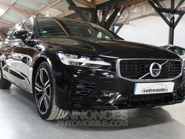 Volvo V60 (2E GENERATION) II T8 390 TWIN ENGINE R-DESIGN GEARTRONIC 8 Noir Occasion - 5