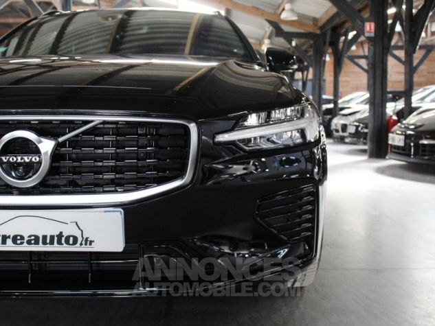 Volvo V60 (2E GENERATION) II T8 390 TWIN ENGINE R-DESIGN GEARTRONIC 8 Noir Occasion - 6