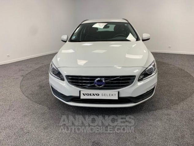 Volvo V60 D3 150ch  Blanc Glace 614 Occasion - 7