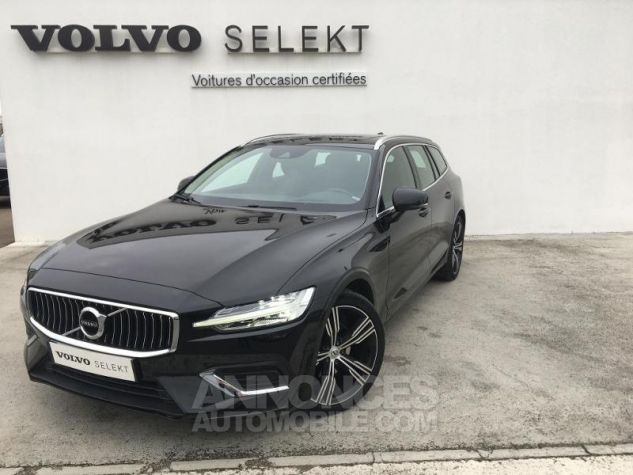 Volvo V60 D4 190ch AdBlue Inscription Luxe Geartronic Noir Onyx Occasion - 0