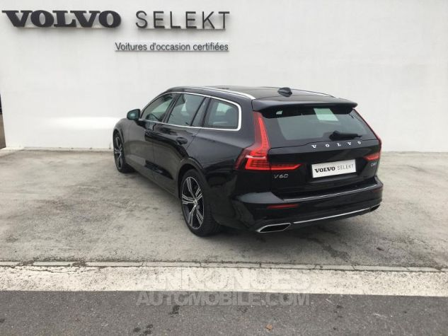Volvo V60 D4 190ch AdBlue Inscription Luxe Geartronic Noir Onyx Occasion - 2