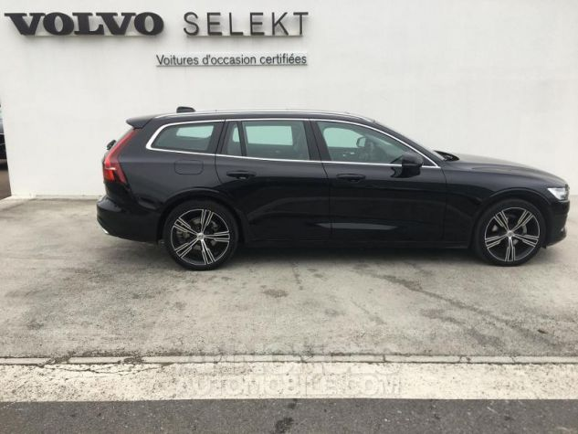 Volvo V60 D4 190ch AdBlue Inscription Luxe Geartronic Noir Onyx Occasion - 5