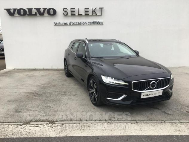 Volvo V60 D4 190ch AdBlue Inscription Luxe Geartronic Noir Onyx Occasion - 6