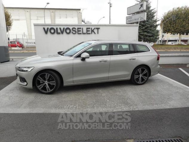 Volvo V60 D4 190ch AdBlue Inscription Luxe Geartronic Blanc Bouleau Occasion - 0