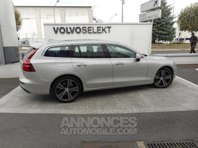 Volvo V60 D4 190ch AdBlue Inscription Luxe Geartronic Blanc Bouleau Occasion - 2