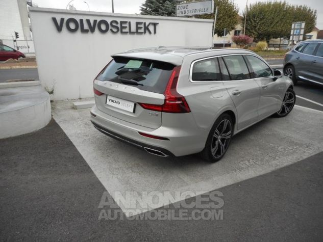 Volvo V60 D4 190ch AdBlue Inscription Luxe Geartronic Blanc Bouleau Occasion - 8