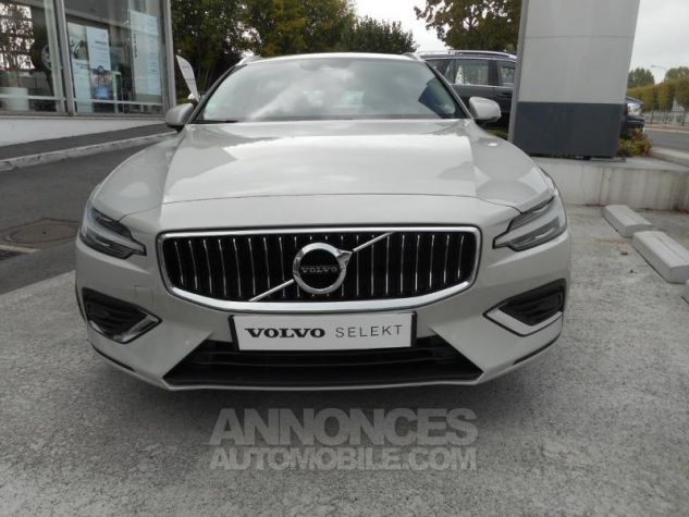 Volvo V60 D4 190ch AdBlue Inscription Luxe Geartronic Blanc Bouleau Occasion - 11