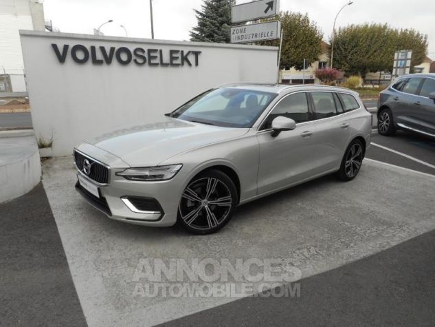 Volvo V60 D4 190ch AdBlue Inscription Luxe Geartronic Blanc Bouleau Occasion - 15
