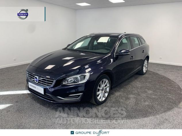 Volvo V60 D4 190ch Summum Geartronic BLEU F Occasion - 0