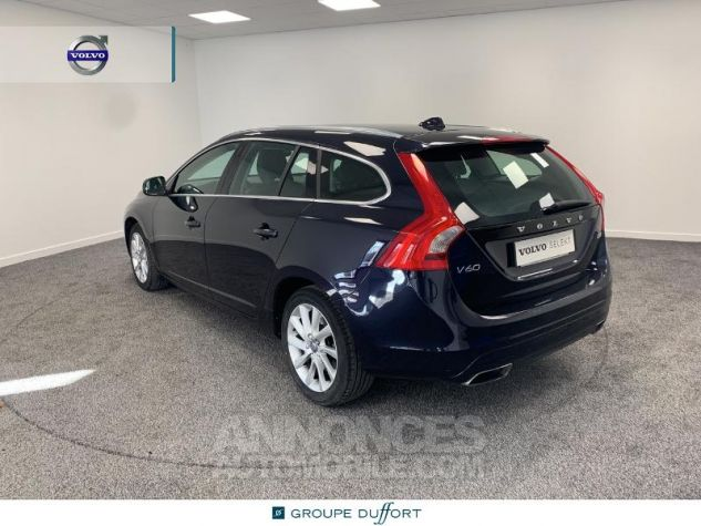 Volvo V60 D4 190ch Summum Geartronic BLEU F Occasion - 1