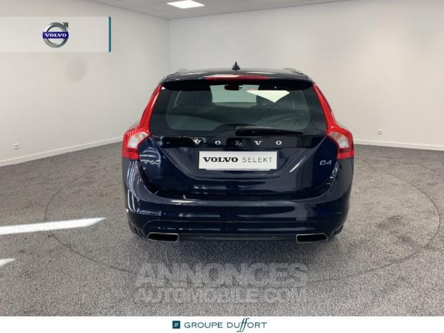 Volvo V60 D4 190ch Summum Geartronic BLEU F Occasion - 4