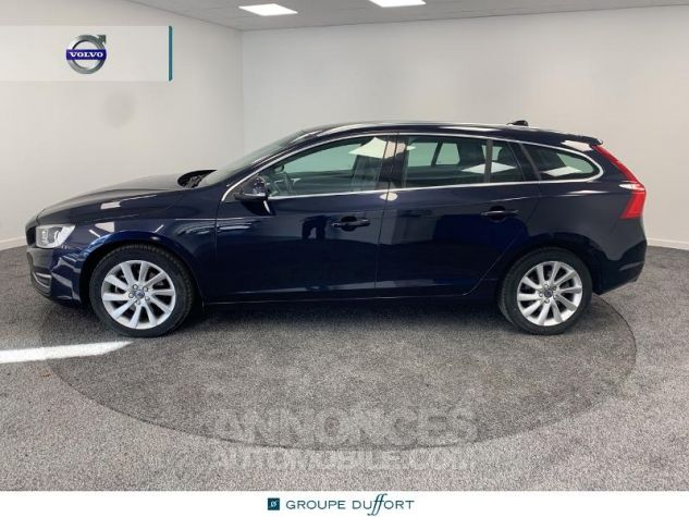 Volvo V60 D4 190ch Summum Geartronic BLEU F Occasion - 5