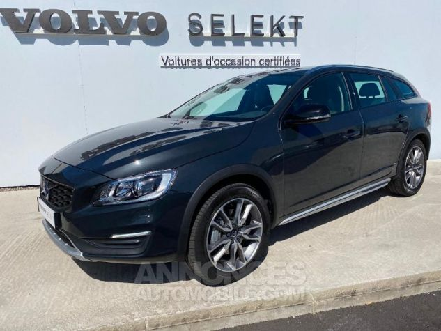 Volvo V60 D4 AWD 190ch Pro Geartronic Gris Saville Occasion - 0