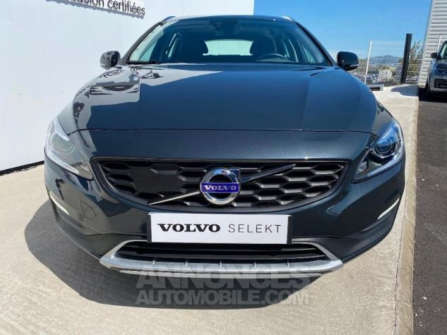 Volvo V60 D4 AWD 190ch Pro Geartronic Gris Saville Occasion - 7