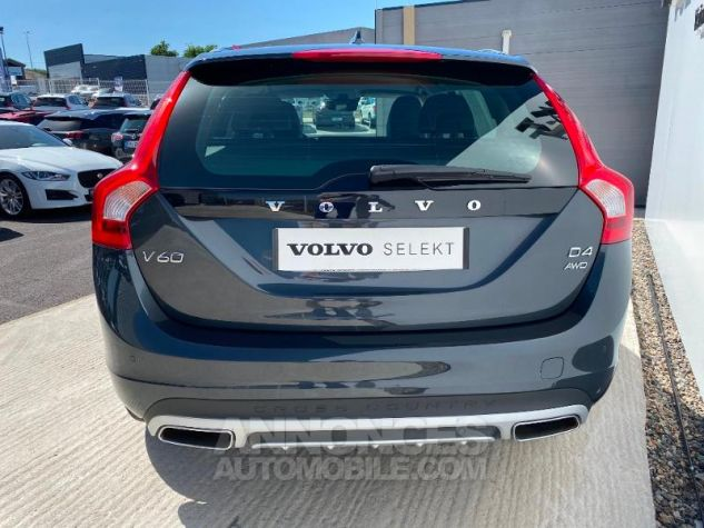 Volvo V60 D4 AWD 190ch Pro Geartronic Gris Saville Occasion - 9