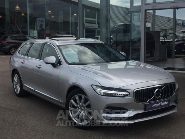 Volvo V90 D4 190ch Inscription Geartronic ARGENT Occasion - 1