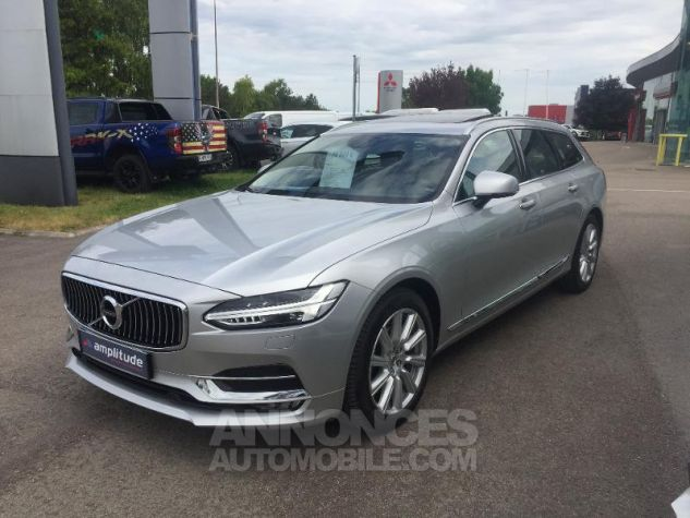 Volvo V90 D4 190ch Inscription Geartronic ARGENT Occasion - 8
