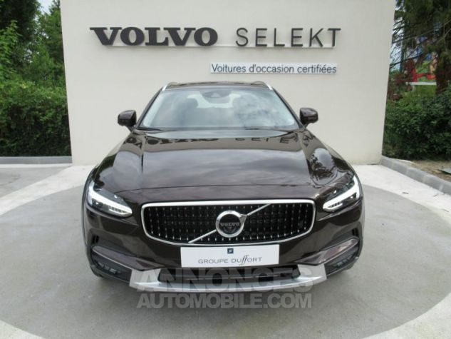 Volvo V90 D4 AWD 190ch Luxe Geartronic BRUN METAL Occasion - 1