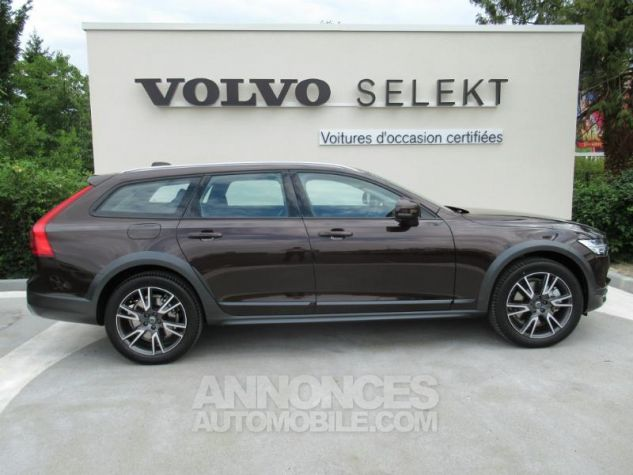 Volvo V90 D4 AWD 190ch Luxe Geartronic BRUN METAL Occasion - 2