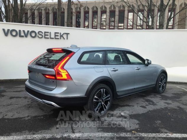 Volvo V90 D4 AWD 190ch Pro Geartronic Gris Clair Métal Occasion - 1