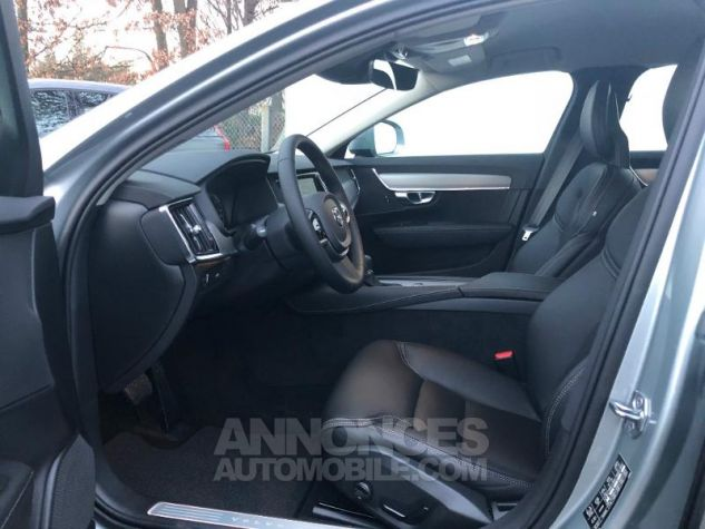 Volvo V90 D4 AWD 190ch Pro Geartronic Gris Clair Métal Occasion - 4