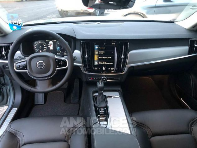 Volvo V90 D4 AWD 190ch Pro Geartronic Gris Clair Métal Occasion - 5