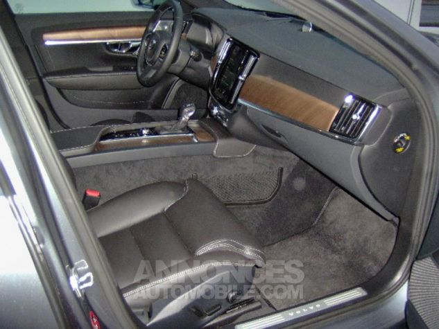 Volvo V90 D5 AWD 235ch Inscription Geartronic GRIS OSMIUM METAL Occasion - 4