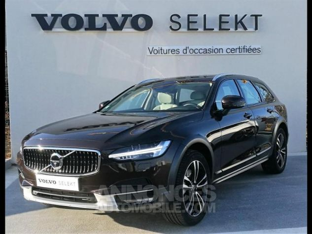 Volvo V90 D5 AWD 235ch Luxe Geartronic Marron Métali Occasion - 0
