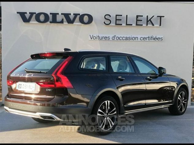 Volvo V90 D5 AWD 235ch Luxe Geartronic Marron Métali Occasion - 1
