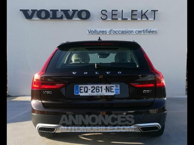 Volvo V90 D5 AWD 235ch Luxe Geartronic Marron Métali Occasion - 3