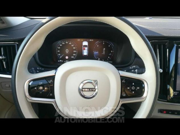 Volvo V90 D5 AWD 235ch Luxe Geartronic Marron Métali Occasion - 11