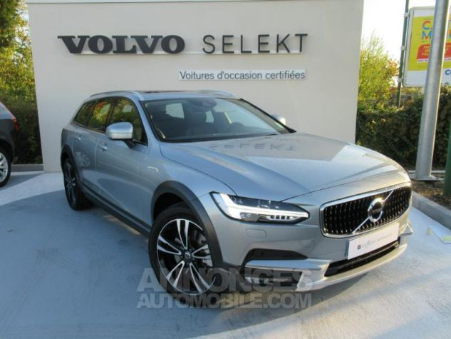 Volvo V90 D5 AWD 235ch Luxe Geartronic argent electrique Occasion - 0