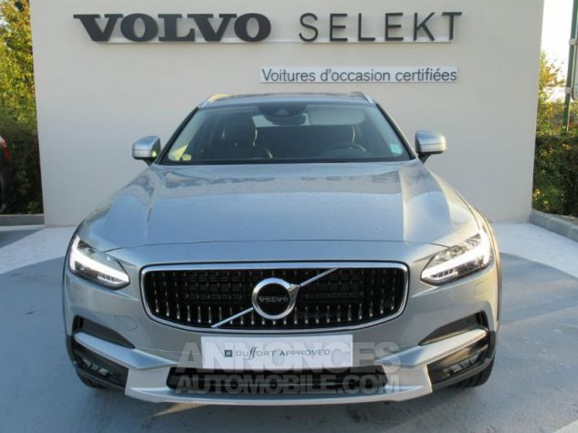 Volvo V90 D5 AWD 235ch Luxe Geartronic argent electrique Occasion - 1