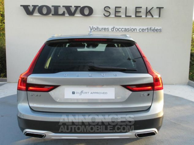 Volvo V90 D5 AWD 235ch Luxe Geartronic argent electrique Occasion - 3