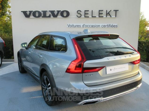 Volvo V90 D5 AWD 235ch Luxe Geartronic argent electrique Occasion - 4